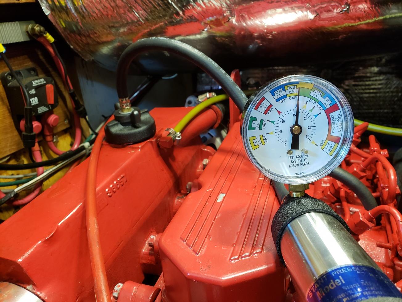 Coolant leak  - Cruisers & Sailing Forums