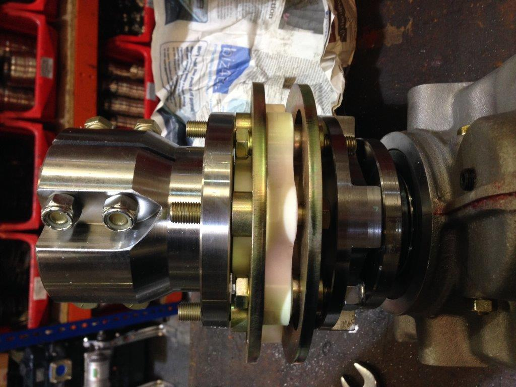 Click image for larger version  Name:ZF15MIV flex coupling 212-05065 + 212-08257 + 5 INCH CLAMP COUPLING.JPG Views:37 Size:108.1 KB ID:190297