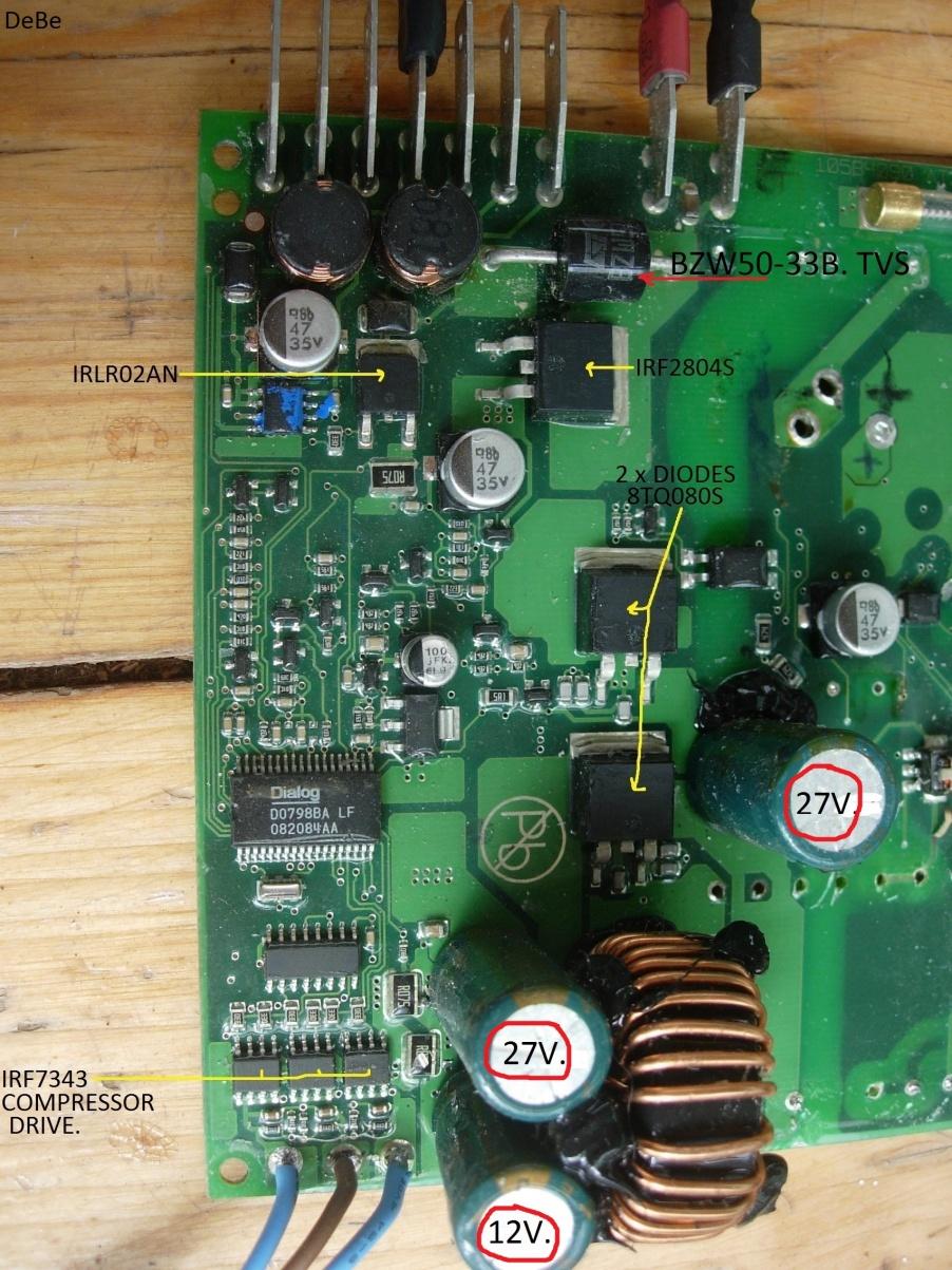wingless' Danfoss BD50F / 101N0500 Refrigerator Problems ... on