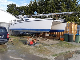 Click image for larger version  Name:Boat, Washed, Ready to be moved to Yaringa Marina Wet berth and put back in the ocean,.jpg Views:208 Size:425.7 KB ID:201475