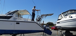 Click image for larger version  Name:Boat, Standing the mast and boom, 28-10-2019 009.jpg Views:38 Size:335.0 KB ID:202217