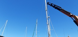 Click image for larger version  Name:Boat, Standing the mast and boom, 28-10-2019 012.jpg Views:88 Size:218.0 KB ID:202218