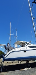 Click image for larger version  Name:Boat, Standing the mast and boom, 28-10-2019 014.jpg Views:43 Size:286.0 KB ID:202219