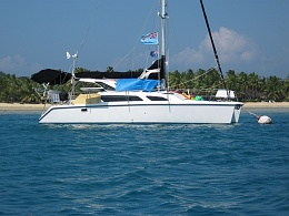 Click image for larger version  Name:My Boat in Fiji on the swing mooring,.jpg Views:42 Size:414.1 KB ID:203991