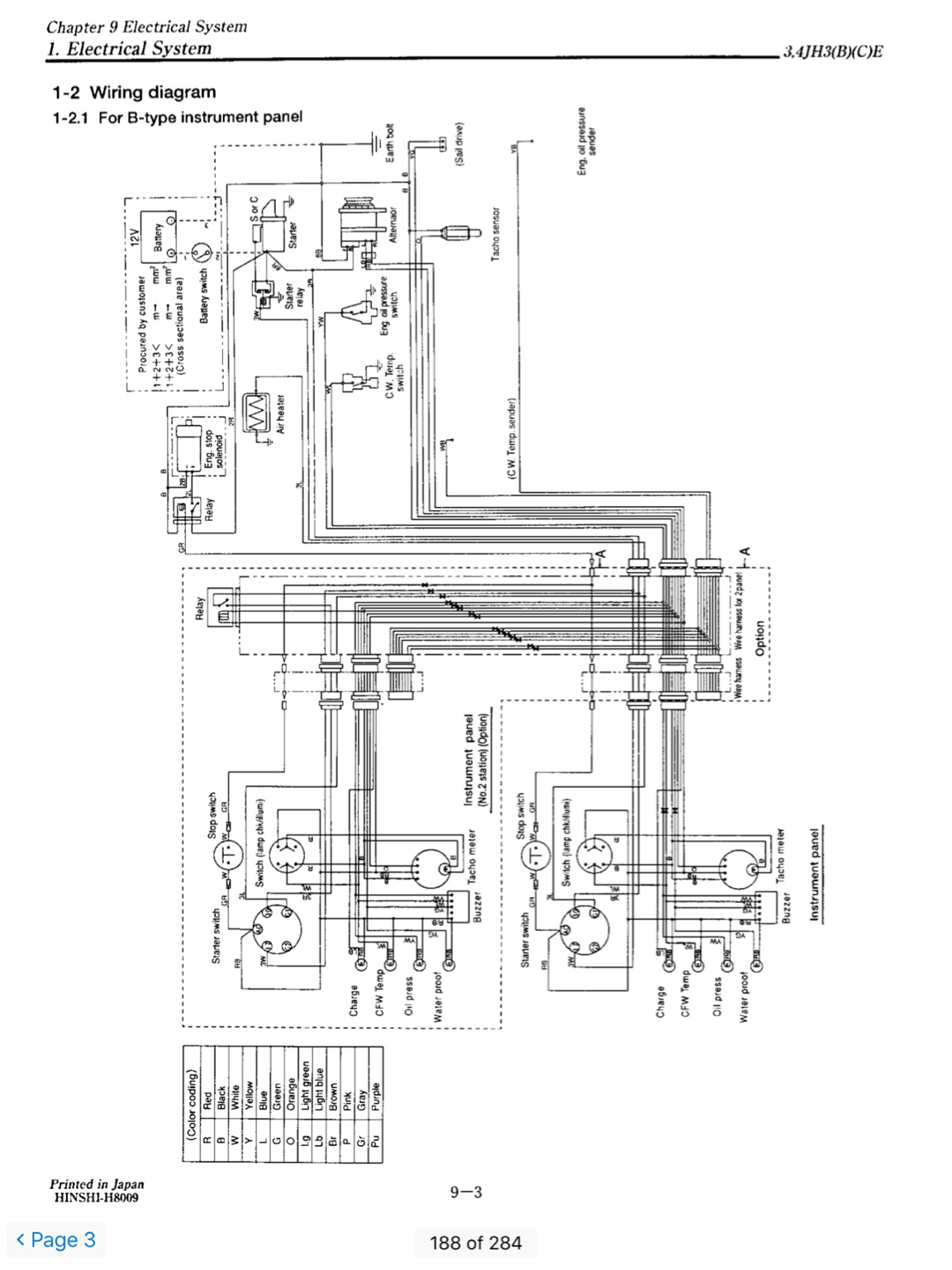 yanmar 4jh3e alternator wiring diagram  cruisers  sailing