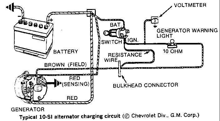 gm amp gauge alternator wiring gm steering wheel wiring