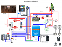 Click image for larger version  Name:20200723 Beneteau 361 Electrical Schematic.jpg Views:726 Size:441.6 KB ID:219852