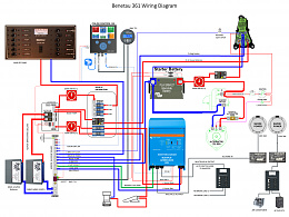 Click image for larger version  Name:20200723 Beneteau 361 Electrical Schematic.jpg Views:710 Size:442.9 KB ID:219857