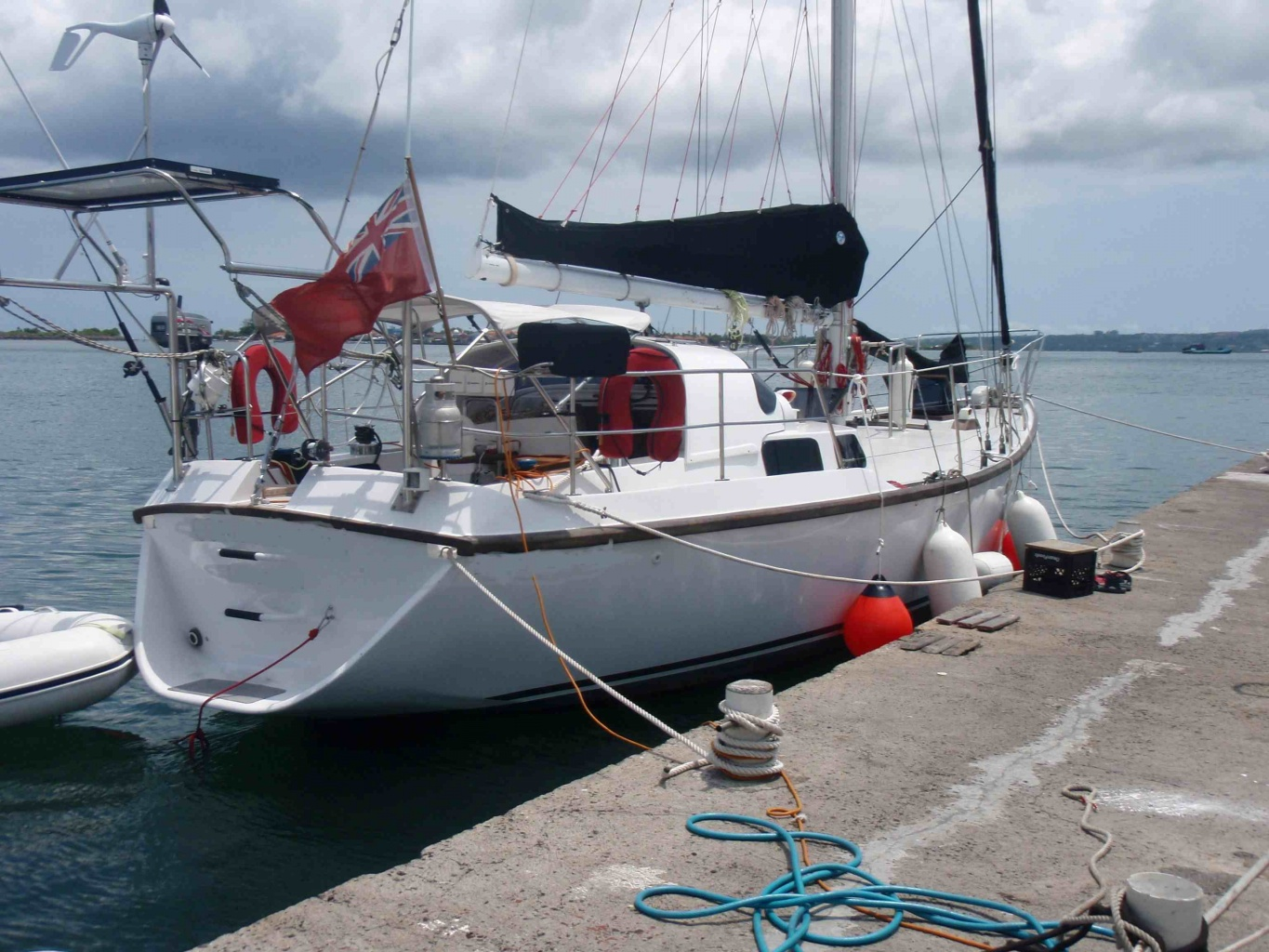 Click image for larger version  Name:starboard side at wharf edit.jpg Views:140 Size:429.0 KB ID:22545