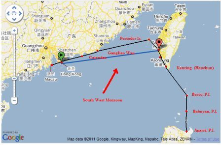 Click Image For Larger Version Name 1 A Hk To Aparri My Route