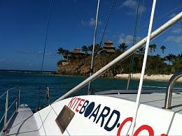 Click image for larger version  Name:kiteboard.com catamaran - nicker  Island BVI home  of  Virgin Richard  Branson.jpg Views:228 Size:115.2 KB ID:26417