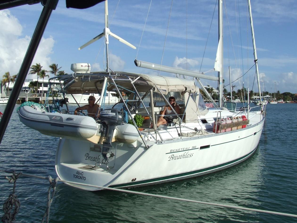 Click image for larger version  Name:2011-02-04  Doreen & Rick aboard Beathless, Key Biscayne, FL.jpg Views:155 Size:437.0 KB ID:28076
