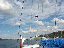 Click image for larger version  Name:Burgee up.jpg Views:920 Size:323.2 KB ID:28272