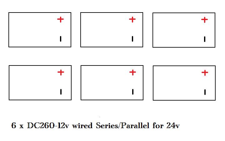 Click image for larger version  Name:6 x 12 v series parallel to 24v.jpg Views:203 Size:23.7 KB ID:2888