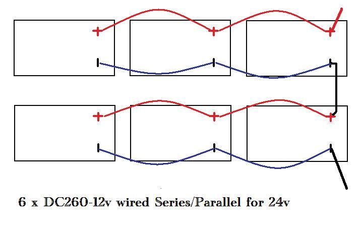Click image for larger version  Name:Version #2  6 x 12 v series parallel to 24v.jpg Views:169 Size:33.9 KB ID:2891