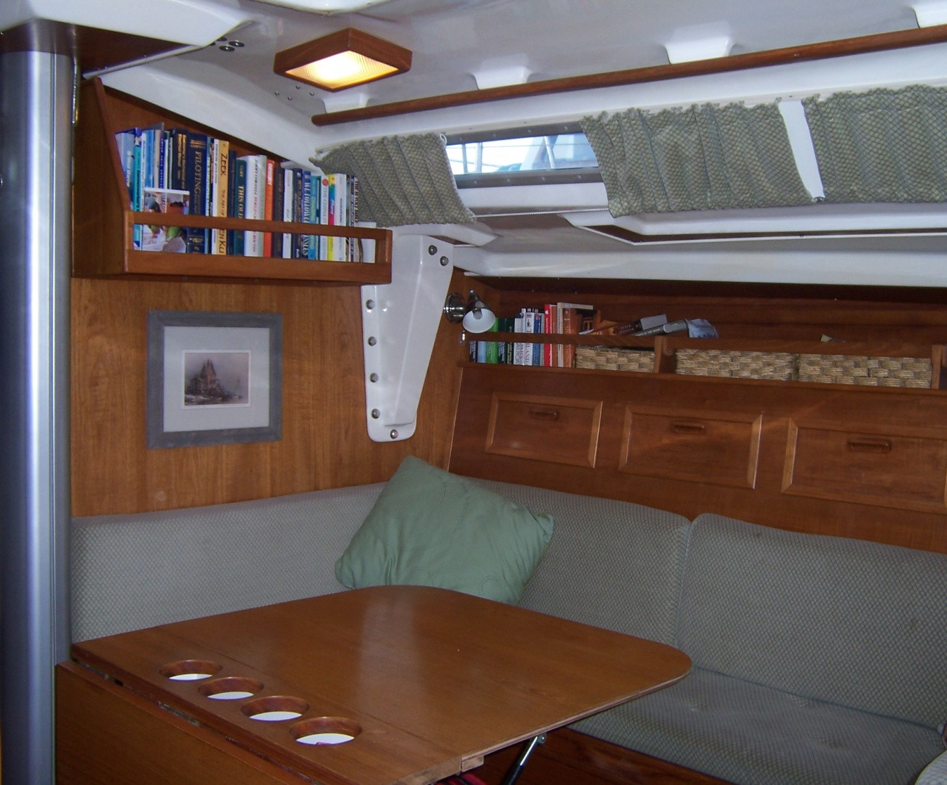 . Interior Decorating Your Sailboat     Cruisers   Sailing Forums