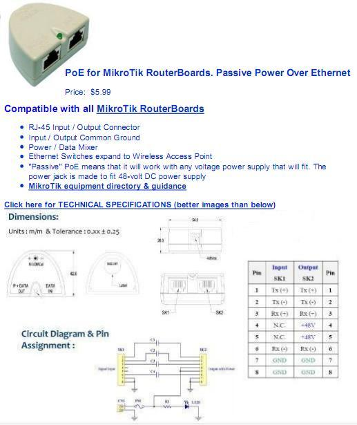 Click image for larger version  Name:PoE for MikroTik RouterBoards.jpg Views:314 Size:44.2 KB ID:29598