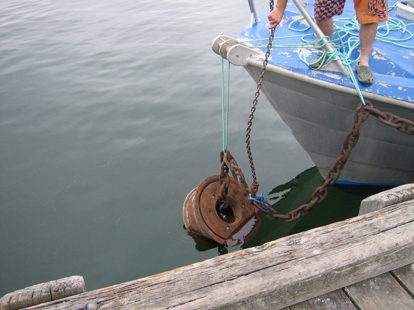 Mooring Buoy Holding-Block Weight ? - Cruisers & Sailing Forums