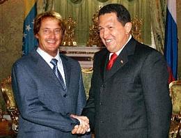 Click image for larger version  Name:Hugo Chavez thanks MarkJ for coming to Venezuela.jpg Views:124 Size:33.5 KB ID:32230
