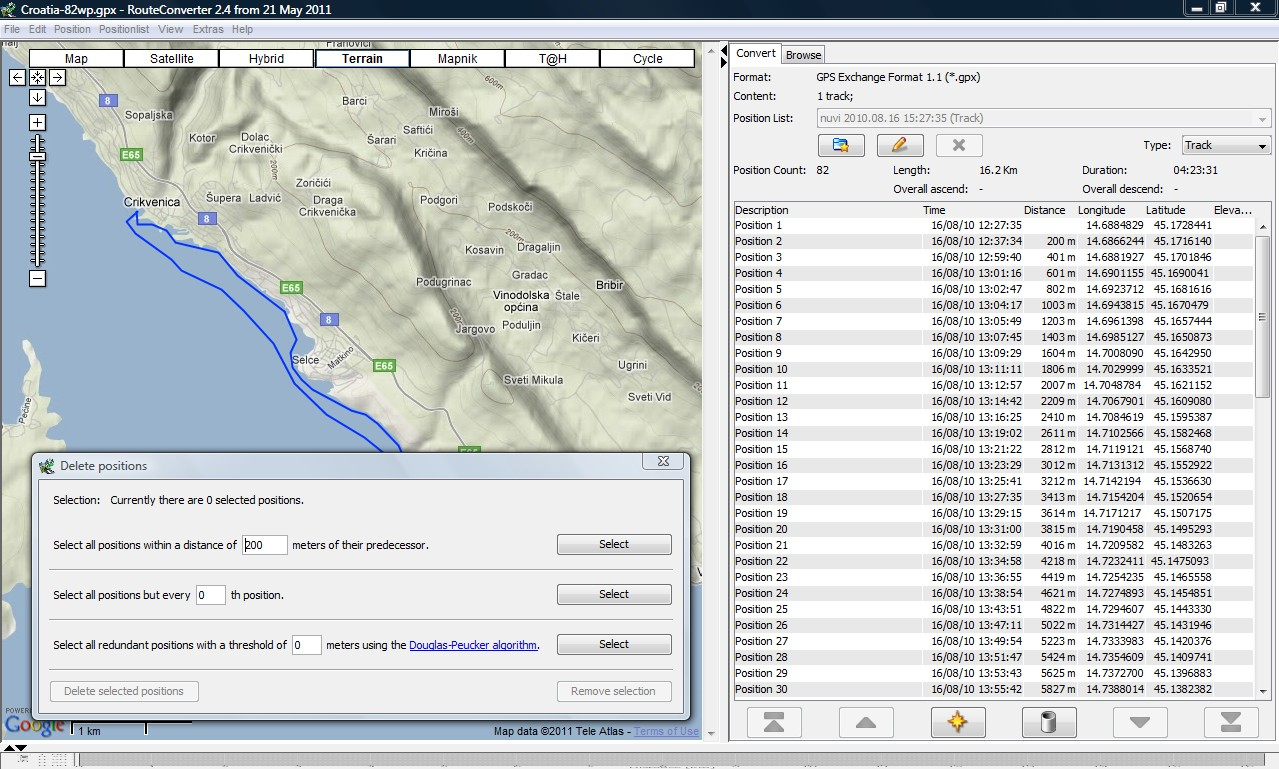 Import GPX Tracks Crash - Page 2 - Cruisers & Sailing Forums
