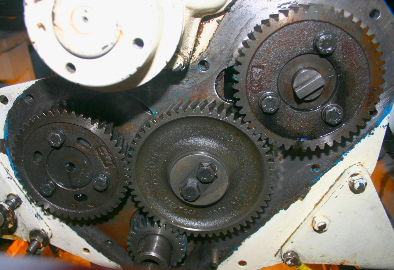 Click image for larger version  Name:4 Timing Gears Mating Face Cleaned.jpg Views:728 Size:428.5 KB ID:34565