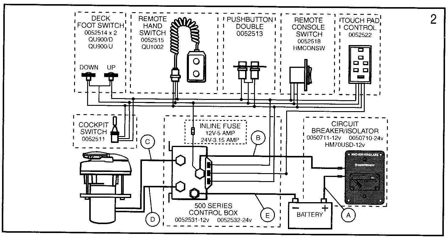 lewmar wiring diagram