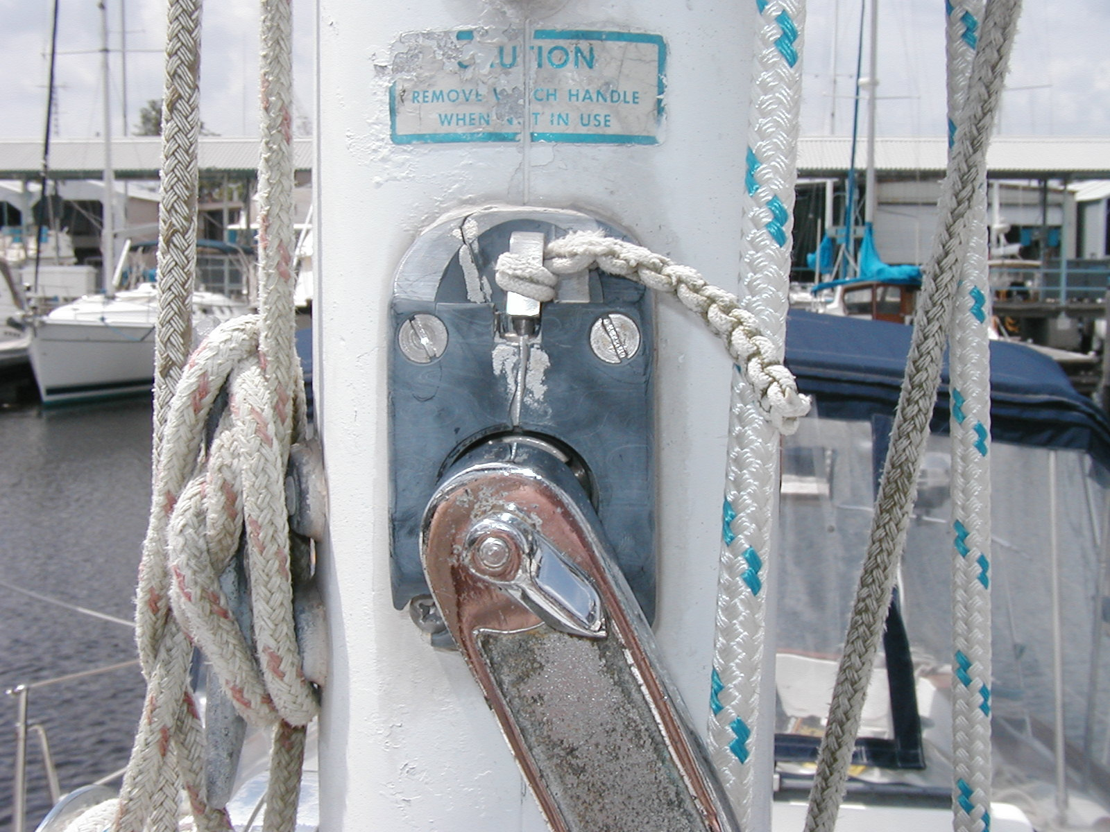 In mast furler issues - Cruisers & Sailing Forums