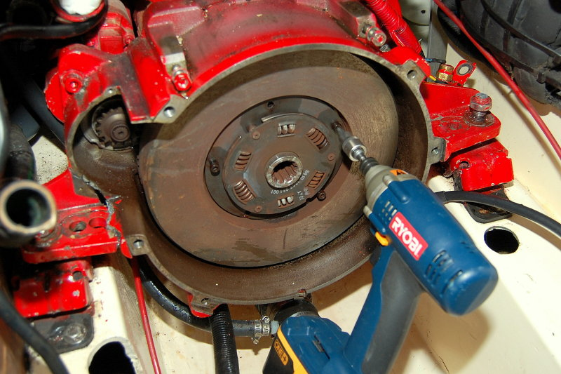 Replacing a Damper Plate on My Transmission - Cruisers & Sailing Forums