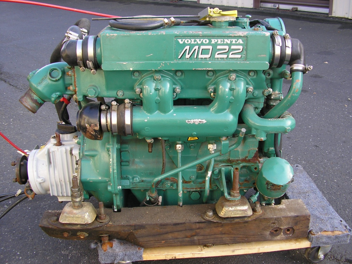 For Sale Or Trade 1995 Volvo Md22 Diesel Engine Complete