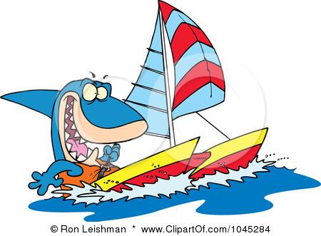 Click image for larger version  Name:1045284-Royalty-Free-RF-Clip-Art-Illustration-Of-A-Cartoon-Shark-Sailing-A-Catamaran.jpg Views:175 Size:68.6 KB ID:37608