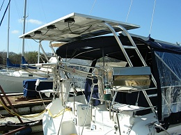 Solar Panel Mounting Options Cruisers Amp Sailing Forums