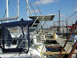Solar Panel Mounting Options - Cruisers & Sailing Forums