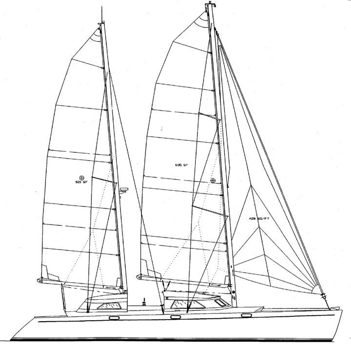 Click image for larger version  Name:Catamaran ketch rig, Chris White,jpg.jpg Views:330 Size:60.8 KB ID:43453
