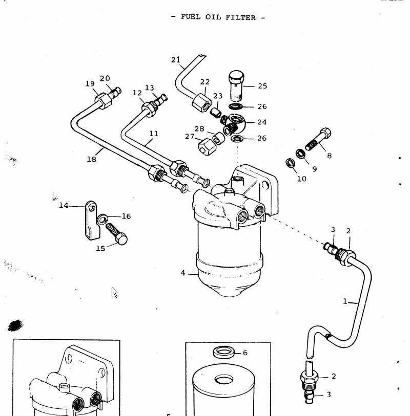 injection fuel lines perkins 4107