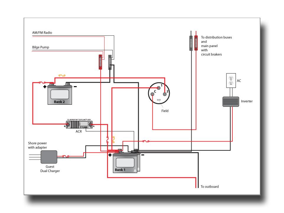 standard boat wiring diagram standard wiring diagrams