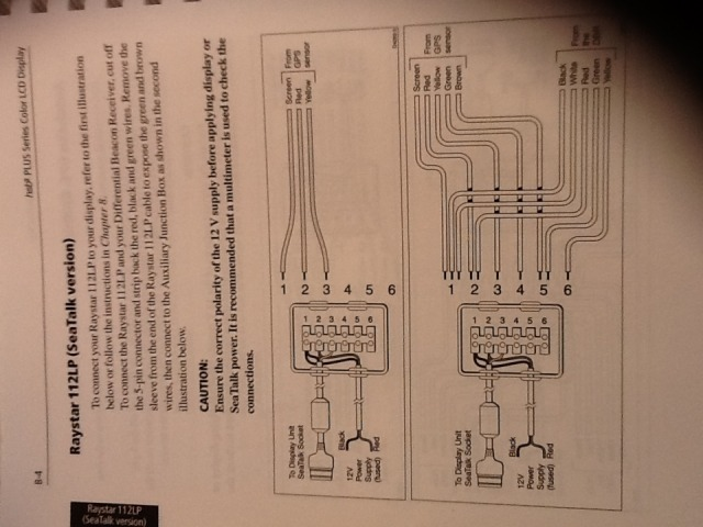 raymarine gps antenna wiring diagram