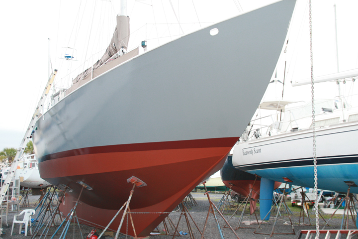 Click image for larger version  Name:Balance yard starboard.jpg Views:155 Size:269.0 KB ID:50067