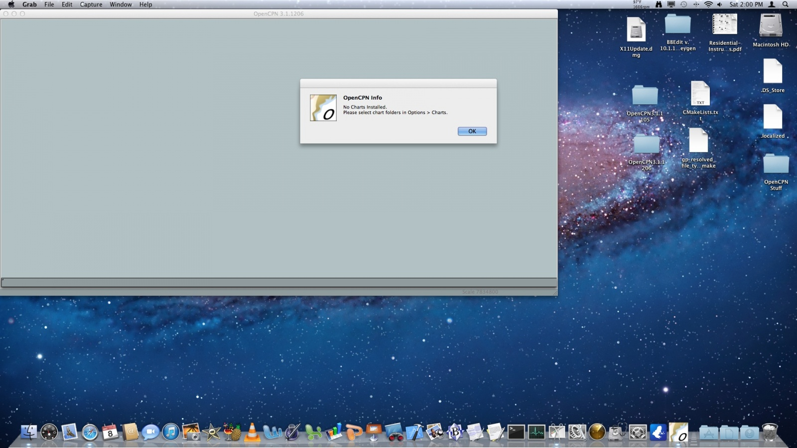 Click image for larger version  Name:OpenCPN 32bit 1206 on Mac Lion.jpg Views:68 Size:326.0 KB ID:50906