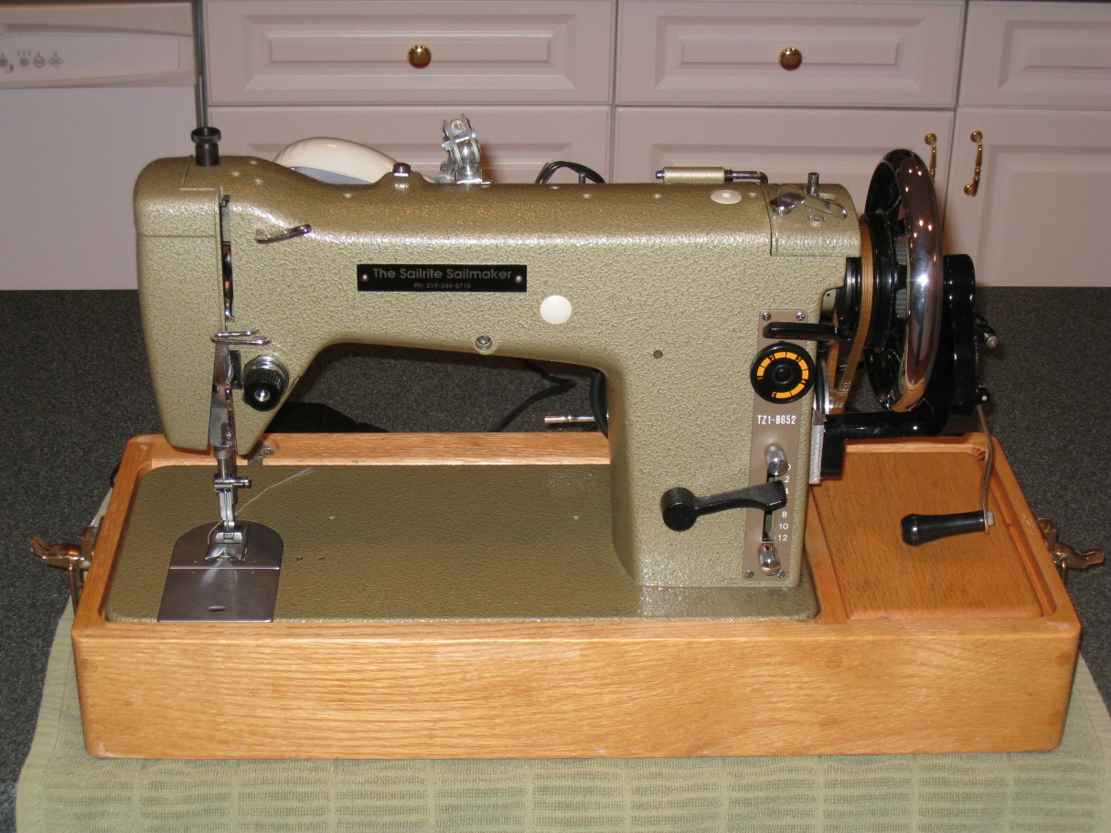 sailmakers sewing machine for sale