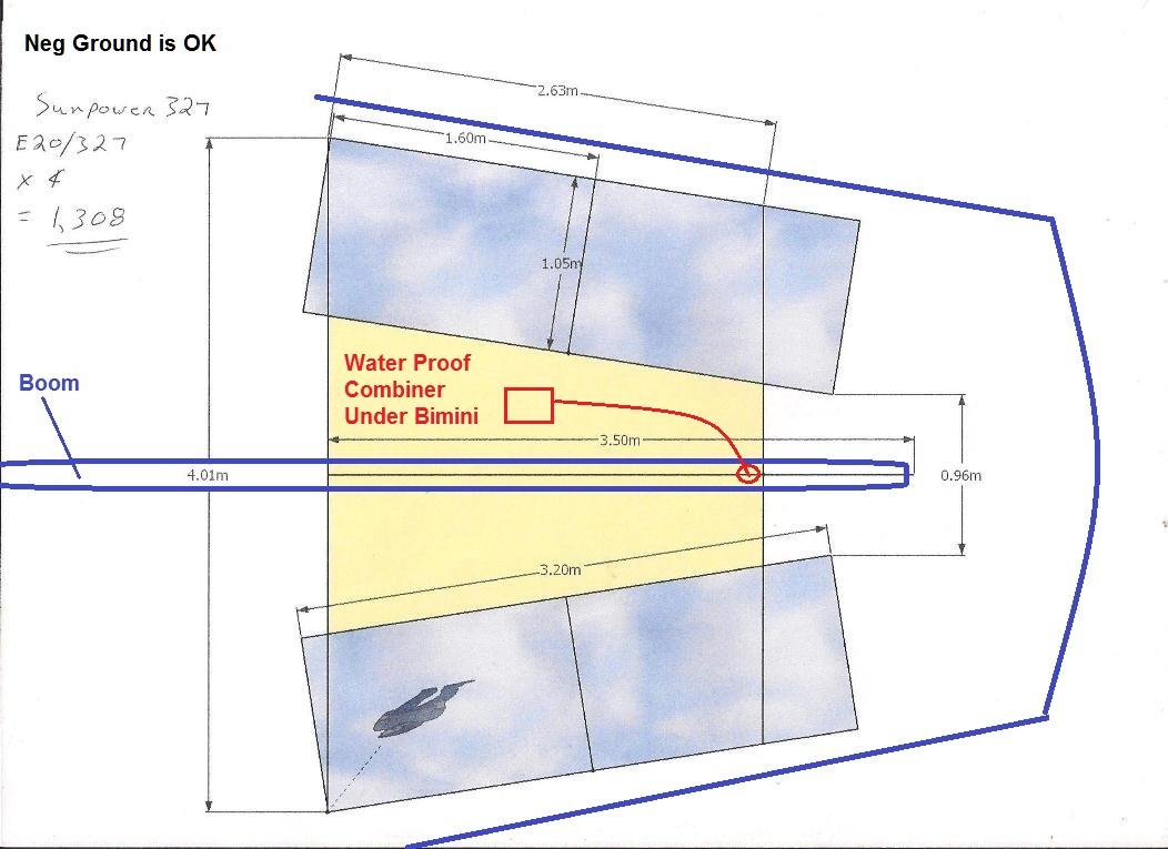 Click image for larger version  Name:1 Sunpower  E20-327 Watt Bimini Fit em.jpg Views:129 Size:150.9 KB ID:53503
