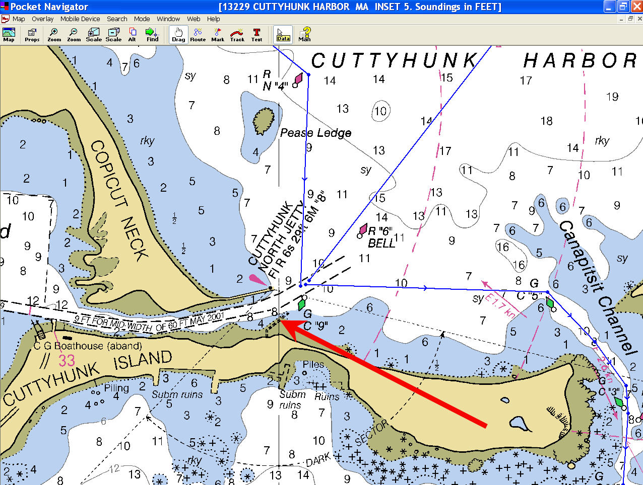 Click image for larger version  Name:Maptech charts CuttyHunk.jpg Views:147 Size:317.7 KB ID:55656