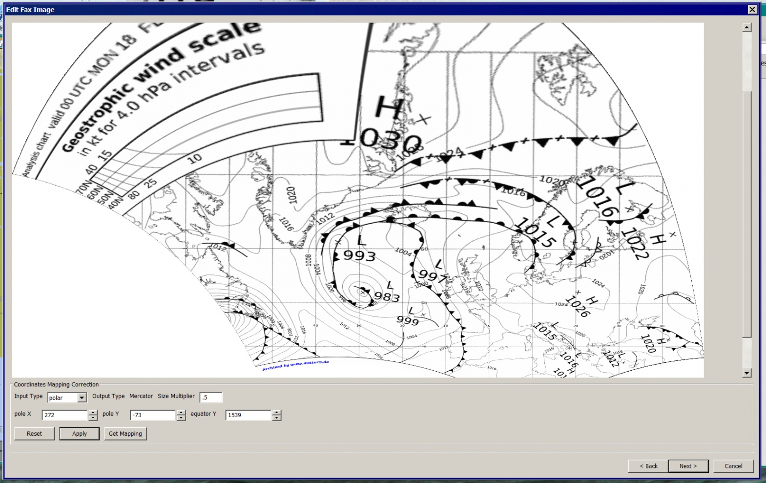 Click image for larger version  Name:Weatherfax-Polar-after-Get-mapping-Applied and-Resize-Applied.jpg Views:92 Size:398.4 KB ID:55967