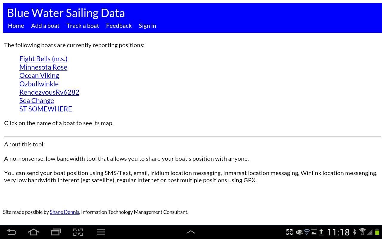 Blue Water Sailing Data via WinLink SMS - Cruisers & Sailing