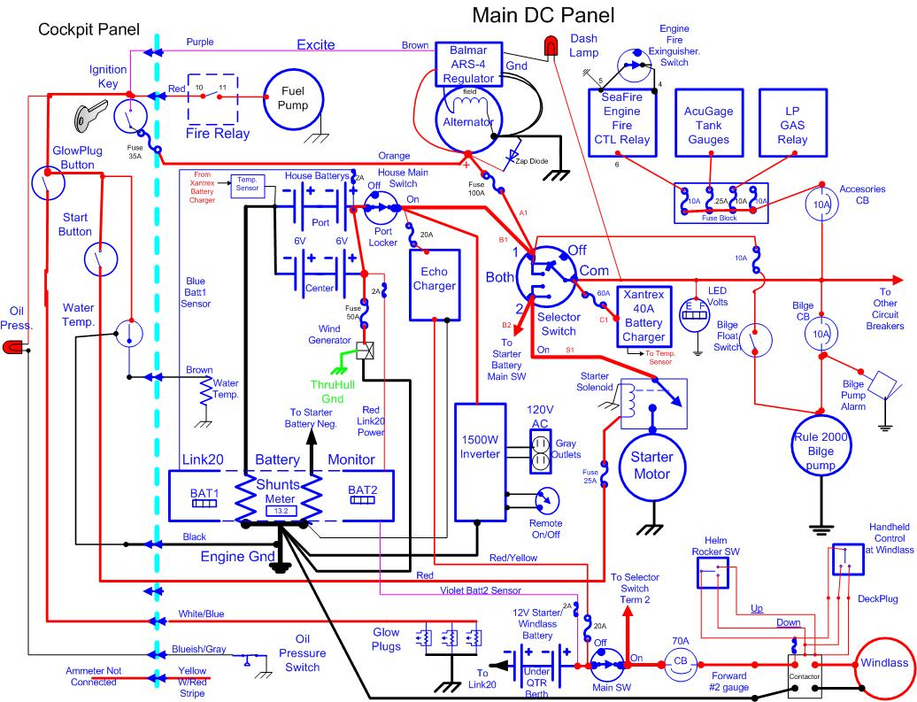 Nice 12 Volt Marine Wiring Diagram Photos - The Best Electrical ...