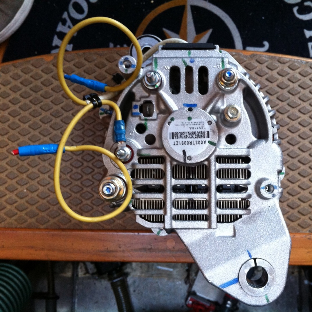 volvo penta wiring diagram alternater sl3