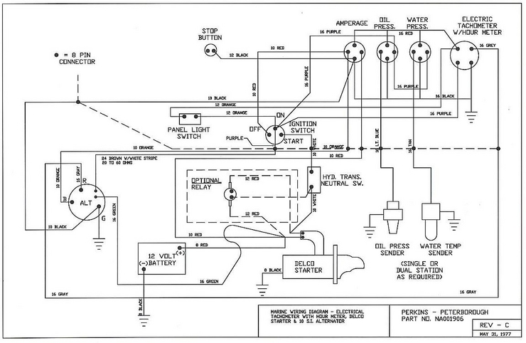 Marine Wiring Colour Codes - Cruisers & Sailing Forums on electrostatic field meter circuit diagram, hour meter motor, hour meter hook up, ct transformer connection diagram, water meter installation diagram, standard power transformer connection diagram, hour meter switch, electrical transformer diagram, hour meter honda, hour meter generator, hour meter installation,