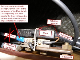 Click image for larger version  Name:MPPT & Shunt wiring.jpg Views:122 Size:98.9 KB ID:66116