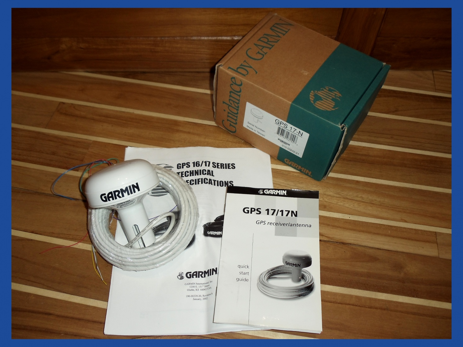 For Sale: Garmin GPS-17N - Cruisers & Sailing Forums