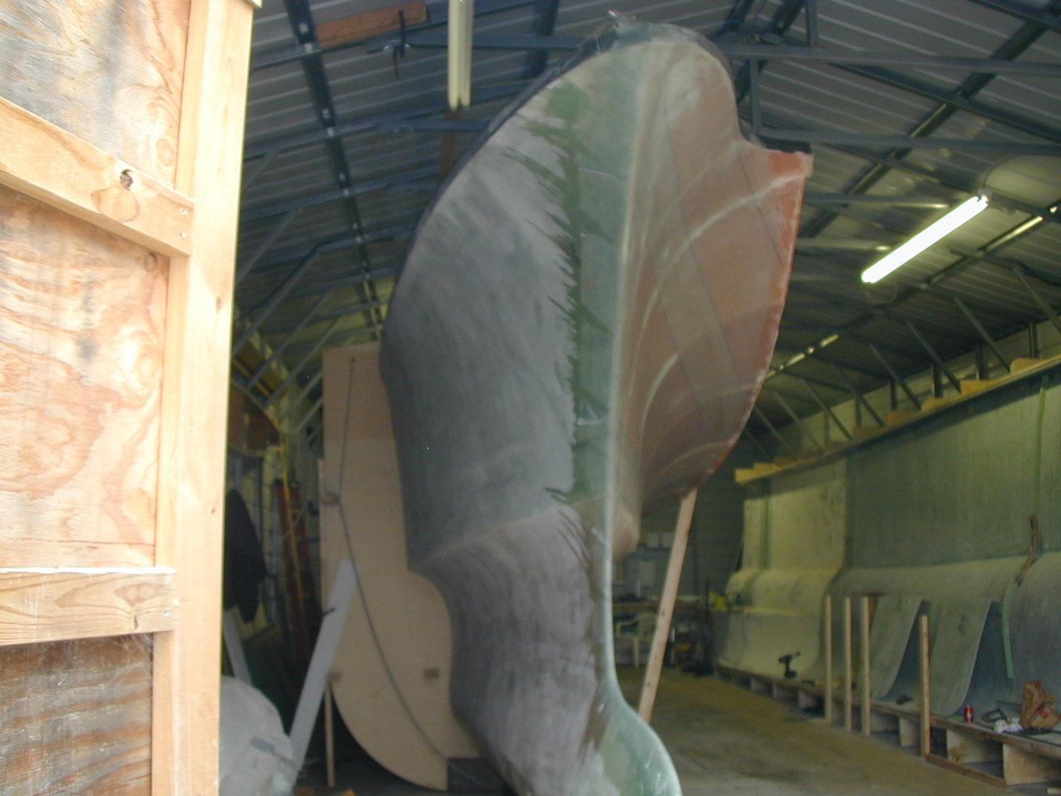 Click image for larger version  Name:Star hull ready to go outdoors.jpg Views:455 Size:400.5 KB ID:66662
