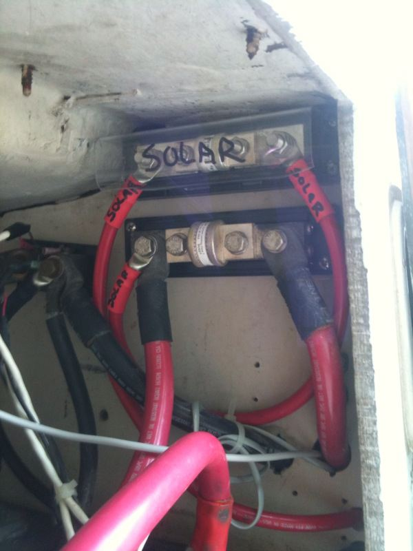 Solar Power and Battery Monitor Shunt Questions - Cruisers ... on shunt fuse, shunt generator, shunt coil diagram, shunt system, shunt switch, wire square d shunt diagram, electrical shunt trip diagram, shunt valve, shunt breaker, shunt motor diagram, square d shunt trip diagram, amp meter shunt diagram, circuit breaker diagram,